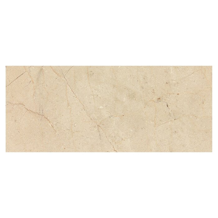 Crema Marfil 12 X 24 Marble Field Tile In Beige