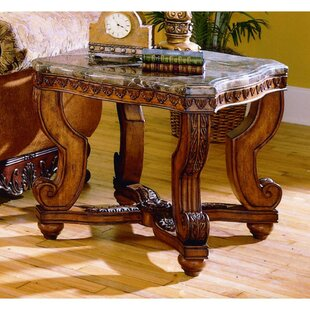 Astoria Grand Imperial Wooden End Table