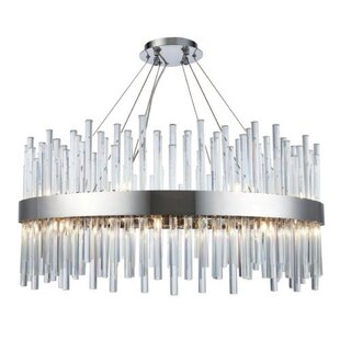 Blytheville 18-Light Crystal Chandelier by Everly Quinn