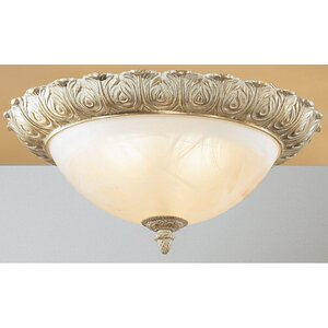 Montego Bay 3-Light Semi-Flush Mount