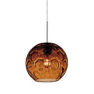 Bombay 1 Light Mini Globe Pendant