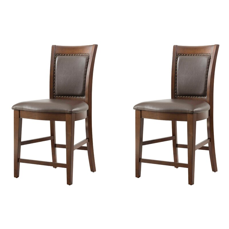 White Cane Outdoor Furniture, Darby Home Co Owen Counter Height Dining Chair Wayfair