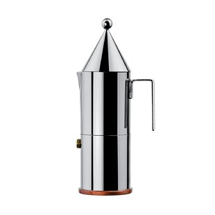 La Conica Espresso / Coffee Maker In Mirror Polished By Aldo Rossi. By  Alessi Design Ideas