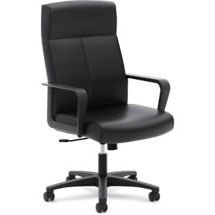 HON High-Back Leather Executive Chair