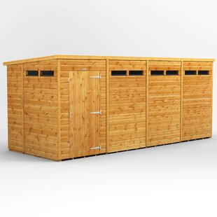 6 Ft. W X 16 Ft. D Solid Wood Garden Shed By WFX Utility