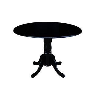 Boothby Round 42 Dual Drop Leaf Dining Table By Three Posts