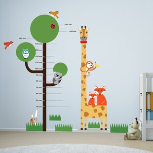 Merveilleux Animal Measurement Wall Decal