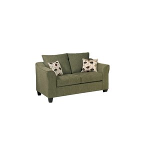 Serta Upholstery Oppenheim Loveseat by Three Posts