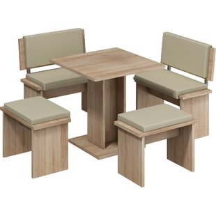 Clarendon 5 Piece Dining Set Loon Peak