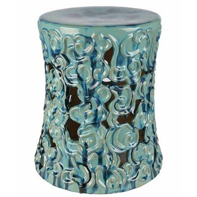 Fabulous World Menagerie Shivansh Garden Stool Color Teal Creativecarmelina Interior Chair Design Creativecarmelinacom