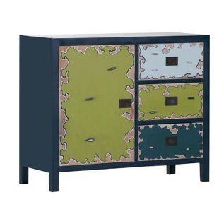 Kaysen 3 Drawer Combi Chest By Bloomsbury Market