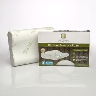 Pegasus Home Fashions Essence of Bamboo Memory Foam Contour Pillow