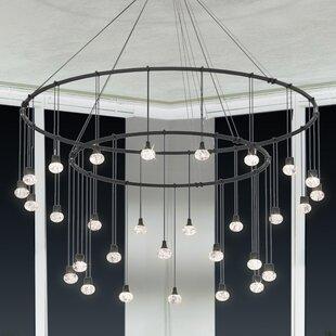 Sonneman Suspenders® 30-Light Cluster Pendant