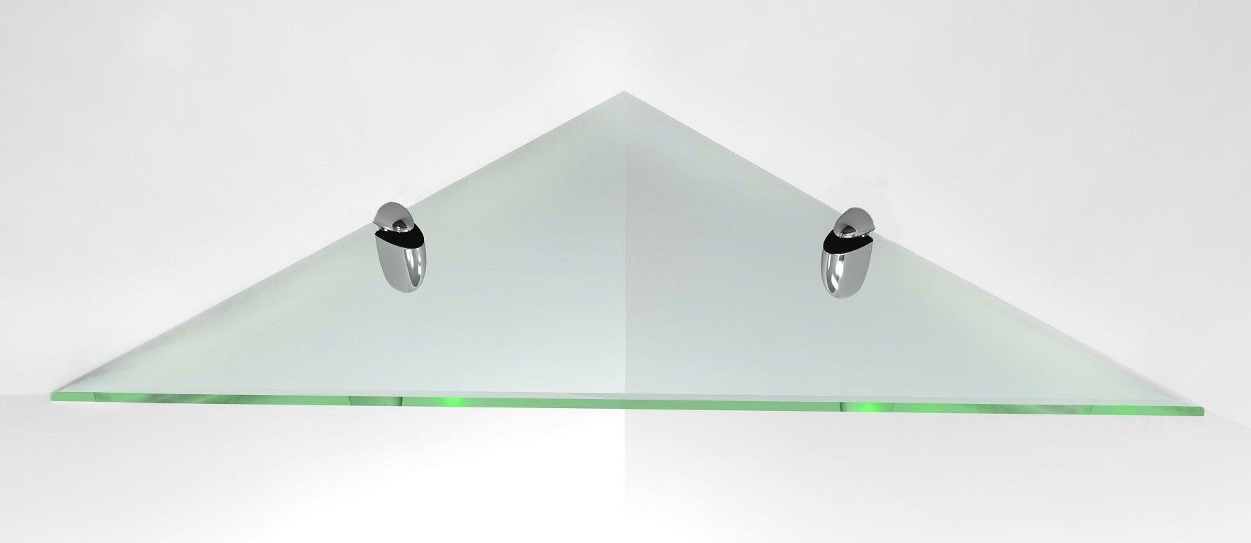 Fab Glass and Mirror Glass Corner Shelf & Reviews