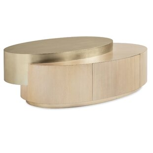 Drum Coffee Table With Storage By Caracole Classic