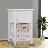 Noah 1 Drawer Nightstand by Rosecliff Heights