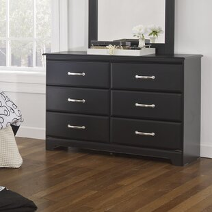 Trenton 6 Drawer Double Dresser
