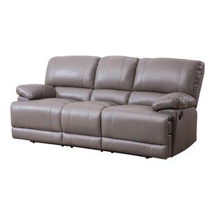 Red Barrel Studio Loper Leather Reclining Sofa