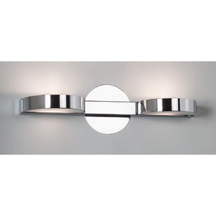 Reviews Slimline 2-Light Vanity Light By Illuminating Experiences
