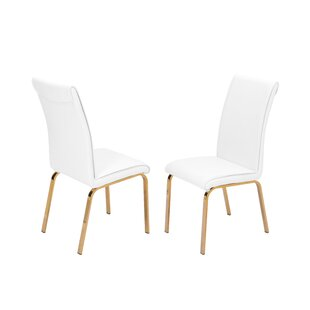 Wagoner Upholstered Dining Chair (Set Of 2) by Mercer41 Bargain