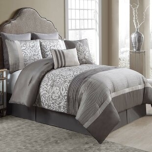 Red Barrel Studio Kingsville 8 Piece Reversible Comforter Set
