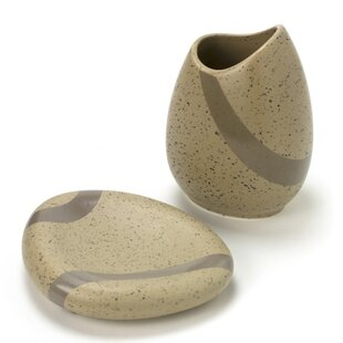 Inexpensive Stone 2-Piece Bathroom Accessory Set ByGedy by Nameeks