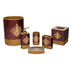 Compare prices Montecito 6 Piece Bathroom Accessory Set By Austin Horn Classics