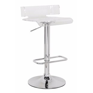 Emre Smart Looking Adjustable Height Swivel Bar Stool