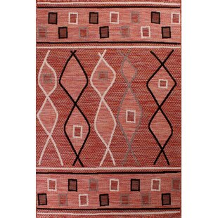 Ophir Outdoor Terracotta Rug By World Menagerie