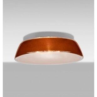 Besa Lighting Pica 1-Light Outdoor Flush Mount