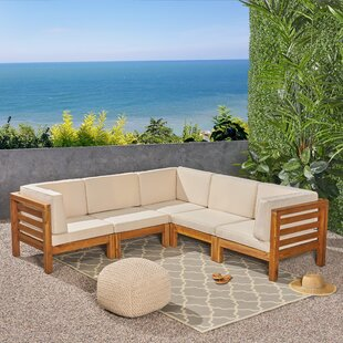 Kronqui Patio Sectional with Cushions
