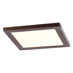 Ebern Designs Skiljo 1-Light LED Flush Mount