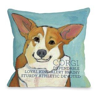 Corgi Pillow Wayfair
