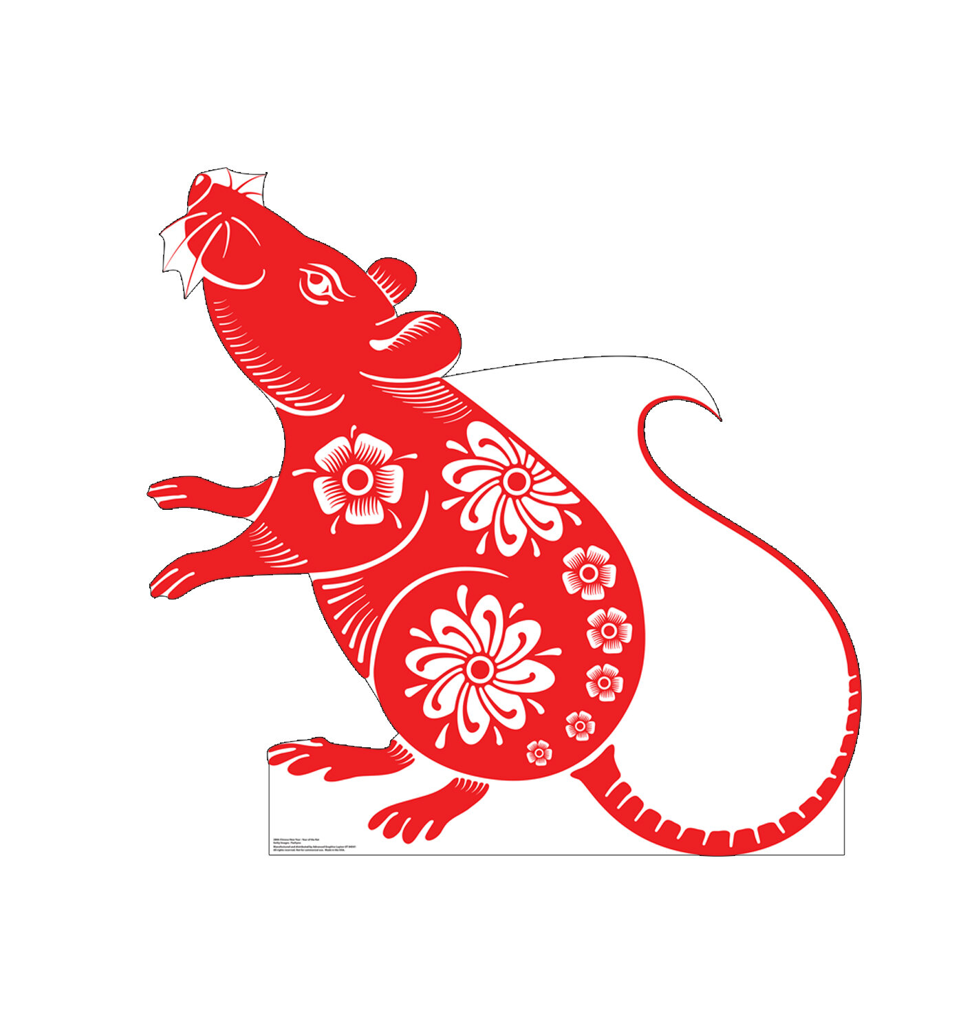 Chinese New Year 2020.Year Of The Rat Chinese New Year 2020 Cardboard Standup