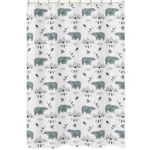 Read Reviews Bear Mountain Shower Curtain By Sweet Jojo Designs