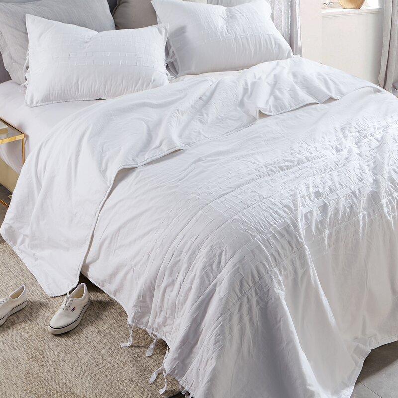 Three Posts Teen Jettie DIY Threads Textured Single Comforter