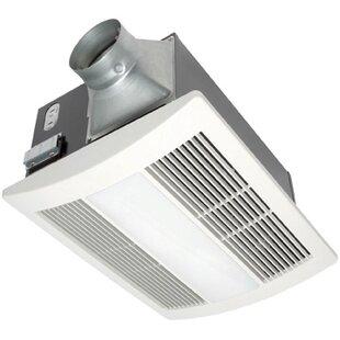 Shop For WhisperWarm 110 CFM Bathroom Fan/Heat/Light Combination ByPanasonic®
