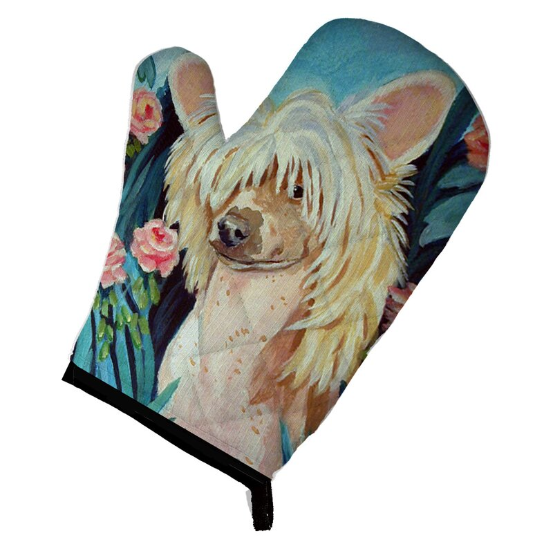 Oven Mitts Bright Pattern Home X Cotton Oven Mitt For Cooking And Serving Dog Breed Print Home Atozhospitals Com