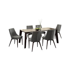 Bergevin 7 Piece Dining Set by Wade Logan