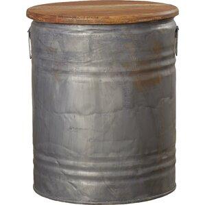 Cordelia Metal Wood Drum Stool  sc 1 st  Wayfair & Outdoor Drum Stool | Wayfair islam-shia.org