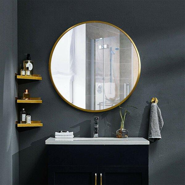 New Milford Metal Bathroom / Vanity Mirror