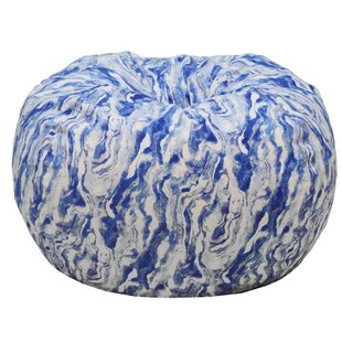 Marble Print Bean Bag Chair