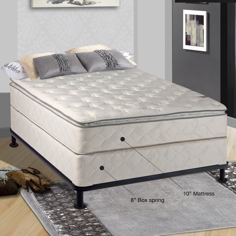 mattress and box spring. orthopedic 10\ mattress and box spring a