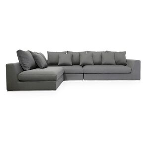 Sather Living Reversible Sectional  sc 1 st  AllModern : sectional modern - Sectionals, Sofas & Couches