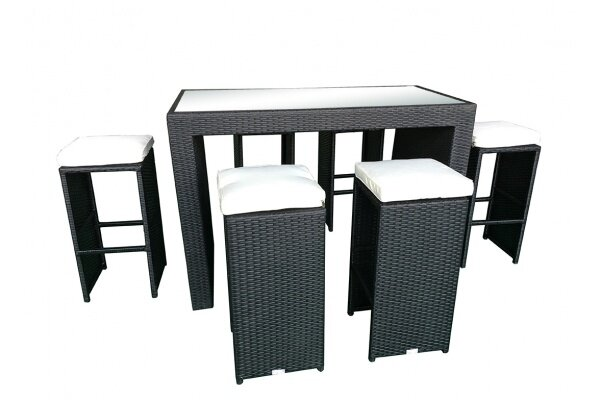 Presley 7 Piece Bar Height Dining Set With Cushions Reviews Joss