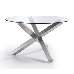 Stainless Steel Dining Table By Angel Cerda