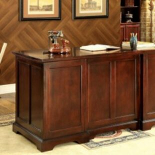 ConCourse Solid Wood Executive Desk