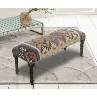 Taja Upholstered Bench by Millwood Pines