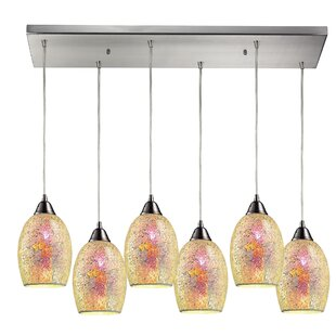 Wininger 6-Light Cluster Pendant by Latitude Run