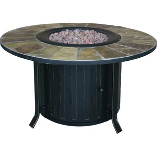 Bond Manufacturing Montini Steel Propane/Natural Gas Fire Pit Table